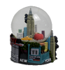 New York Popular Sites Colorful 65mm Snow Globe
