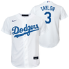 Chris Taylor Youth Jersey - LA Dodgers Replica Kids Home Jersey