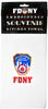 FDNY White/ Logo Kitchen Towel