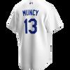 Max Muncy Jersey - LA Dodgers Replica Adult Home Jersey - back