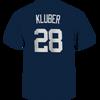 Yankees Corey Kluber Name and Number Mens Tee - back