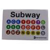 MTA Subway Line Magnet