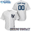 NY Yankees Replica Personalized Youth Home Jersey - Same Day Shipping