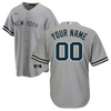NY Yankees Replica Personalized Youth Road Jersey