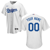 LA Dodgers Replica Personalized Youth Home Jersey