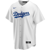 LA Dodgers Replica Personalized Youth Home Jersey - front
