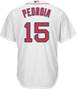 Dustin Pedroia Boston Red Sox Replica Adult Home Jersey