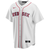 Dustin Pedroia Boston Red Sox Replica Adult Home Jersey - front