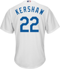 Clayton Kershaw LA Dodgers Replica Youth Home Jersey