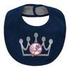 Yankees Baby Bib- MVP Princess