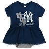 Yankees Baby Bib & Booties Creeper Dress