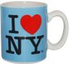 I Love NY Mini Mug - Blue