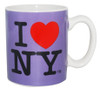 I Love NY Mini Mug - Purple