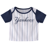 "Yankees Baby ""Little Player"" Pinstripe and Navy Top"