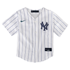 NY Yankees Replica Personalized Kids Home Jersey - front