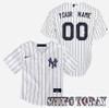 NY Yankees Replica Personalized Kids Home Jersey - Ships Today