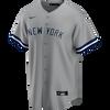 Joe Torre NY Yankees Replica Road Jersey