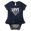 Yankees Love Navy Creeper Dress