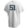 Bernie Williams No Name Jersey - Number Only Replica by Nike