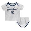 Yankees Baby Pinstripe 2-pc. Set - Double Wordmark