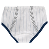 Yankees Baby Pinstripe 2-pc. Set - Double Wordmark - back of shorts