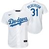 Joc Pederson Youth Jersety - LA Dodgers Replica Youth Home Jersey