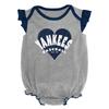 Yankees Grey Sparkle Creeper