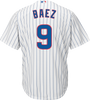 Javier Baez Jersey - Chicago Cubs Replica Adult Home Jersey