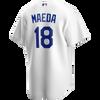Kenta Maeda Jersey - LA Dodgers Replica Adult Home Jersey - back