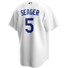 Corey Seager Youth Jersey - LA Dodgers Replica Kids Home Jersey - back