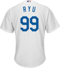 Hyun-Jin Ryu Youth Jersey - LA Dodgers Replica Kids Home Jersey - alt