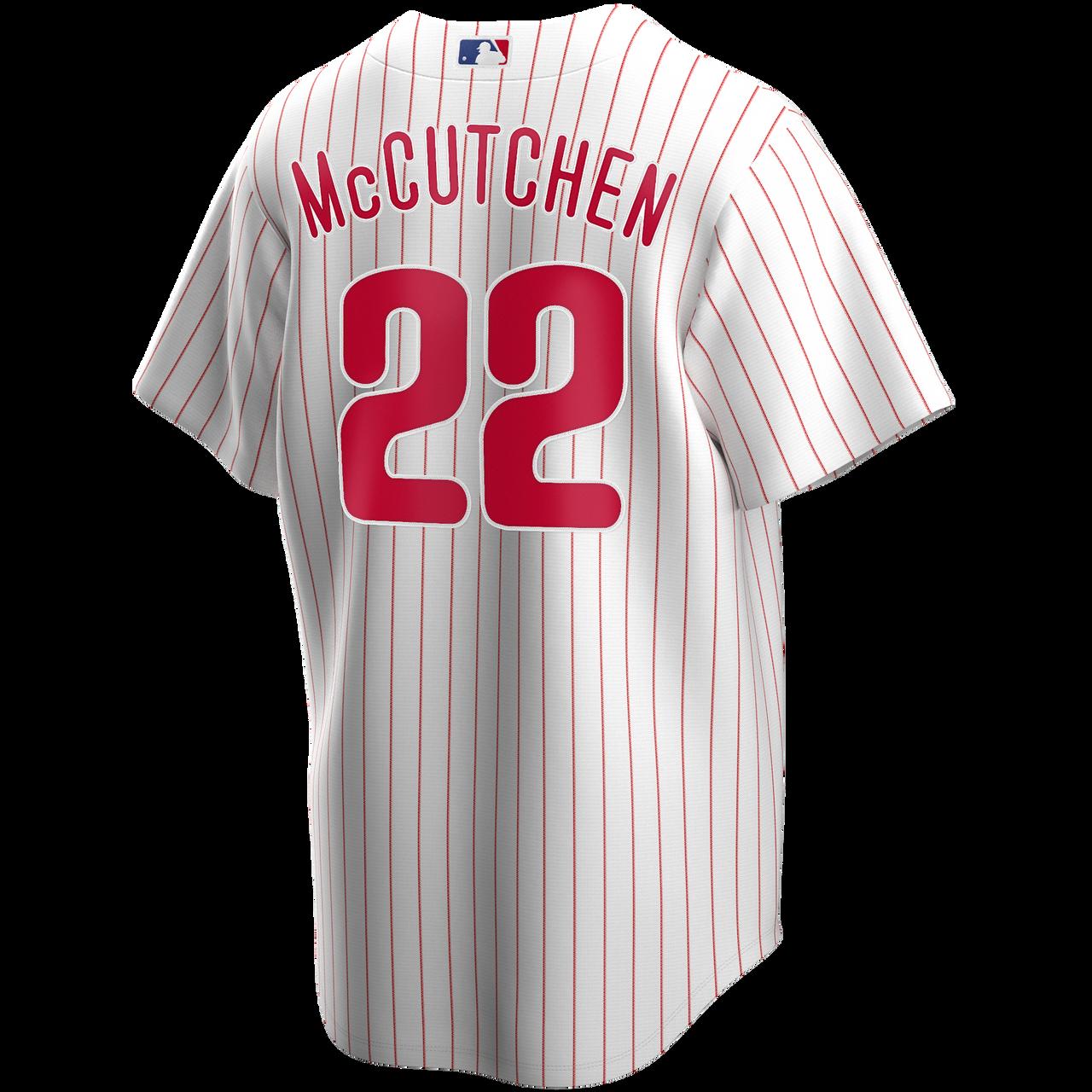 Andrew McCutchen Youth Jersey - Philadelphia Phillies Replica Kids Home Jersey