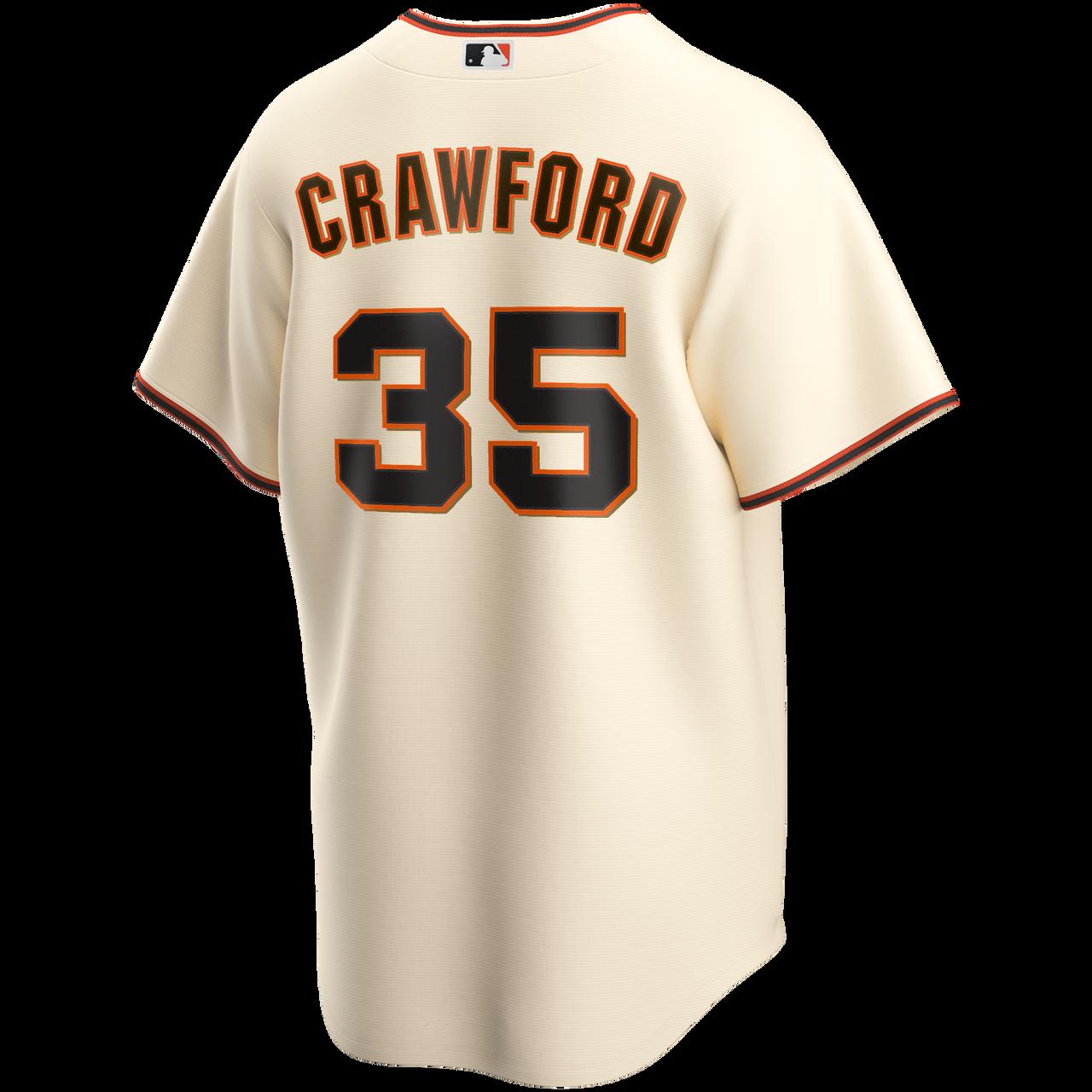 Brandon Crawford Jersey - San Francisco Giants Replica Adult Home Jersey
