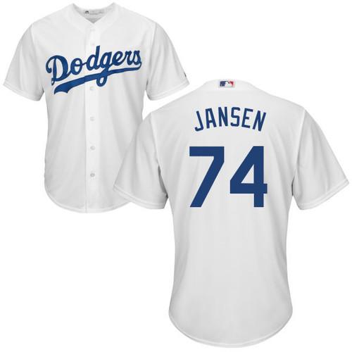 Kenley Jansen Youth Jersey - LA Dodgers Replica Kids Home Jersey