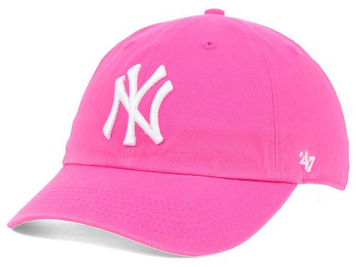 """Yankees Pink """"Cleanup"""" Adjustable Cap"""