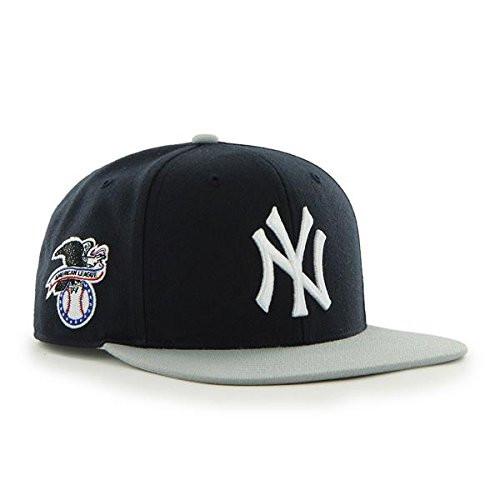 New York Yankees Sure Shot Navy/Grey Adjustable Snapback