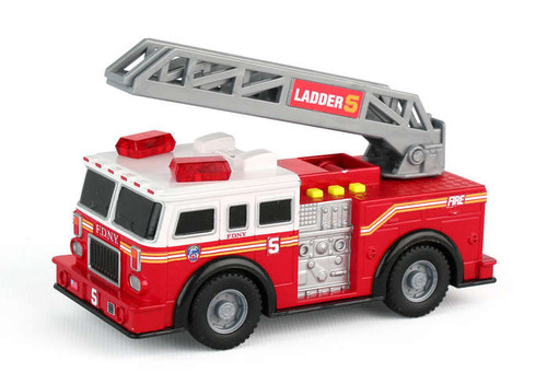 FDNY Mighty Rescue Truck With Light & Sound