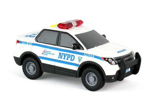 NYPD Mighty Police Car With Light & Sound