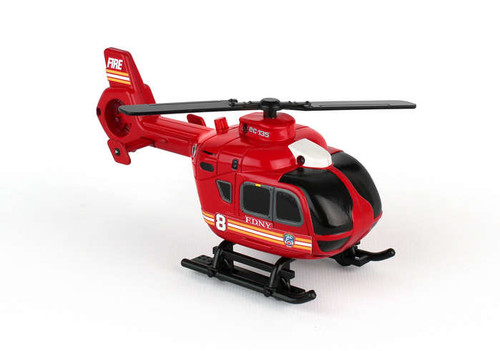 FDNY Mighty Rescue Helicopter With Light & Sound