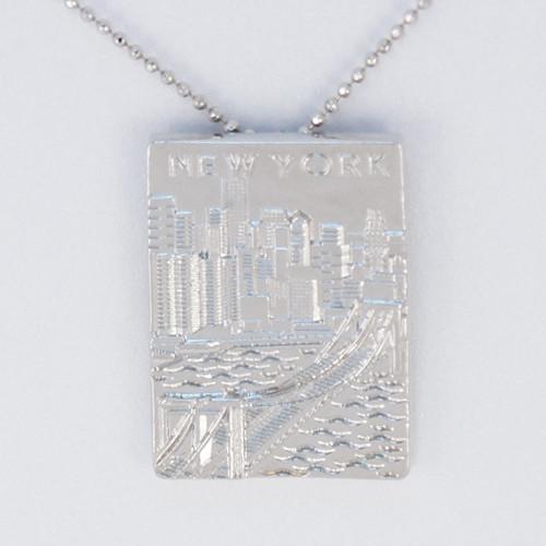 NY Skyline Necklace