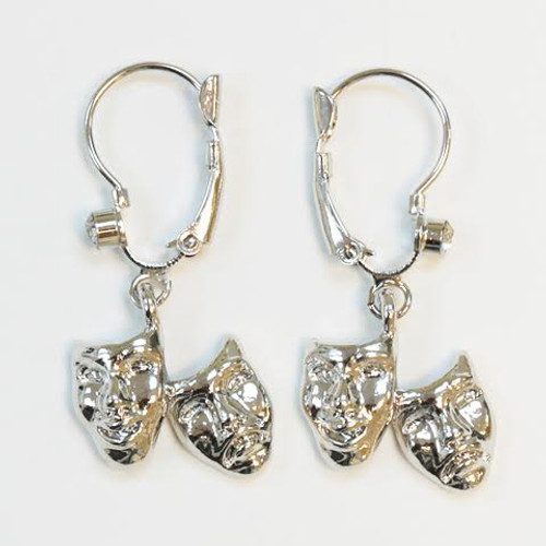 Broadway Mask Hanging Earrings