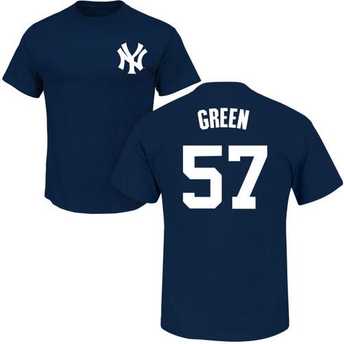 Chad Green T-Shirt - Navy NY Yankees Adult T-Shirt