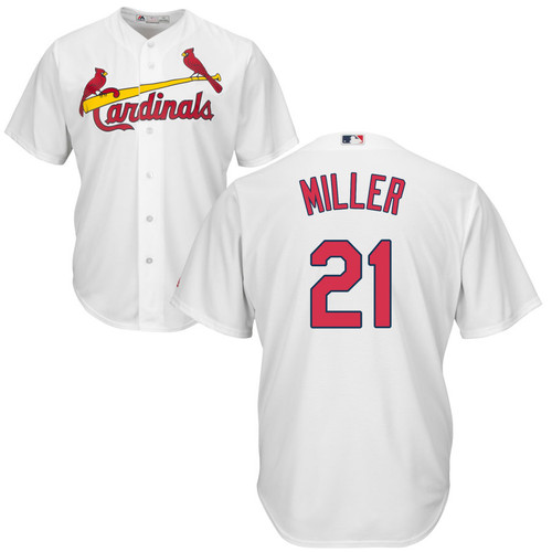 Andrew Miller Jersey - St Louis Cardinals Replica Adult Home Jersey