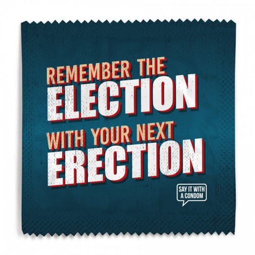 Remember The Election Condom
