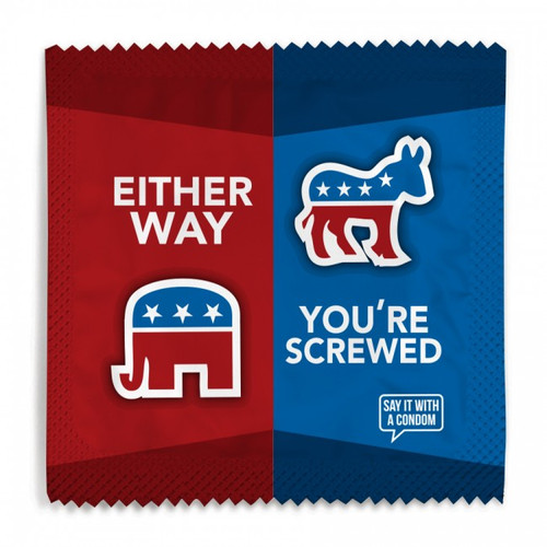 Either Way Political Condom