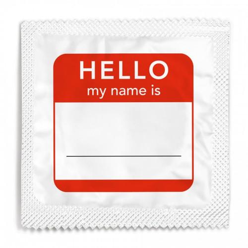 Name Tag Condom