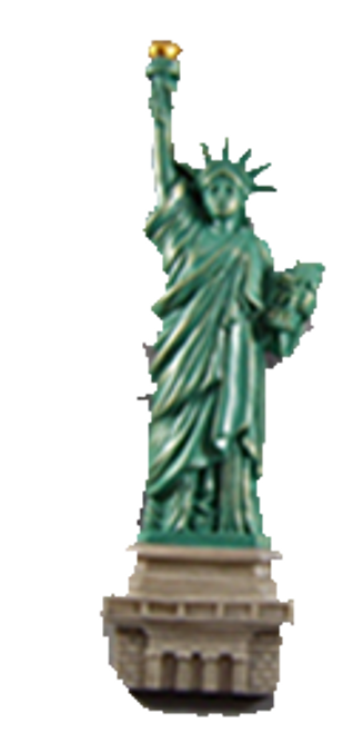 Statue of Liberty Magnet- Medium