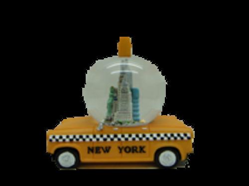 New York Taxi 45mm Snow Globe