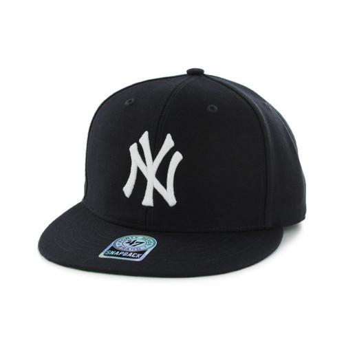 New York Yankees Navy Adjustable Sure-Shot Snapback