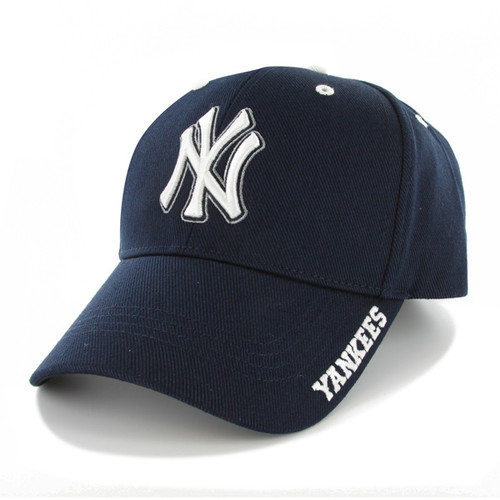 NY Yankees Navy MVP Adjustable Cap